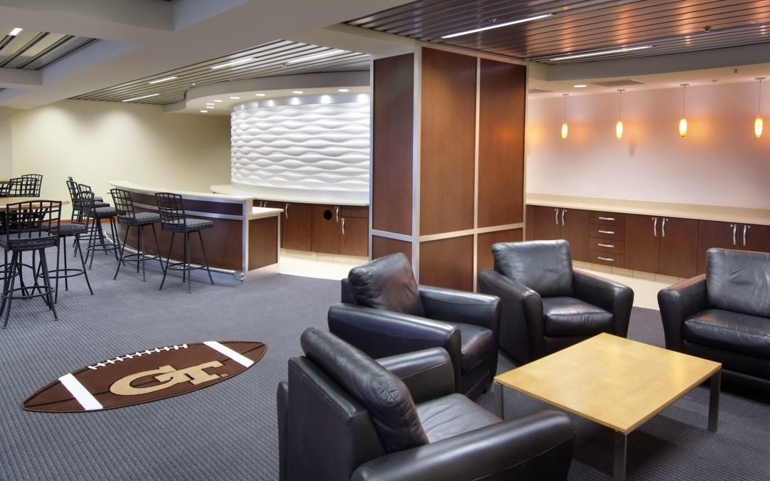 Georgia Tech Bobby Dodd Stadium Suite Renovation