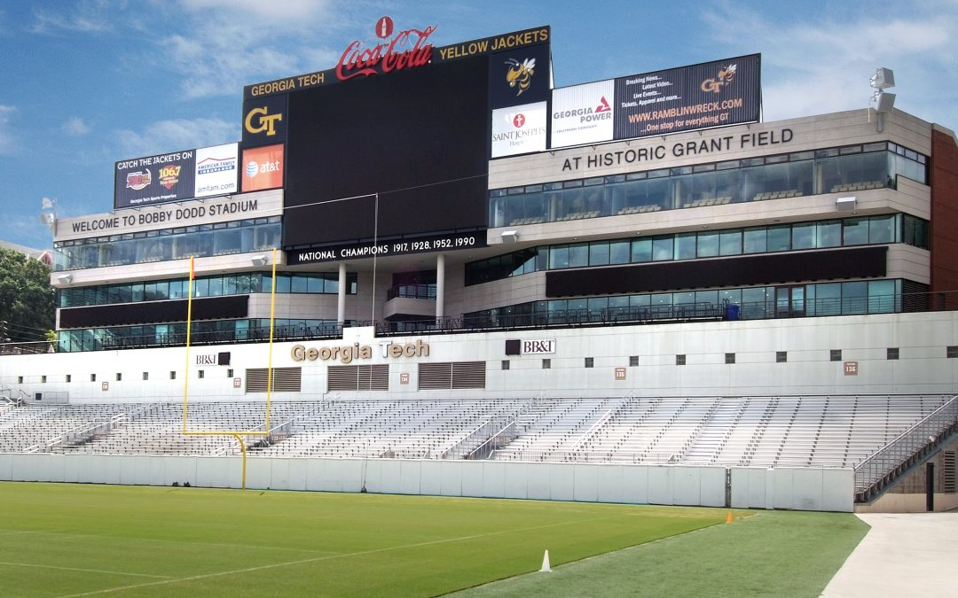 Georgia Tech Scoreboard