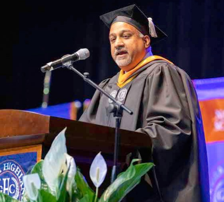 Sachin Shailendra Delivers 2019 Commencement Speech at Georgia Highlands College