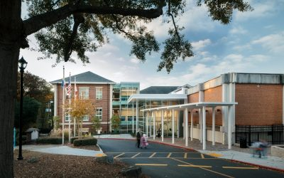 SG Contracting Built the new Atlanta International School's Primary School Learning Center