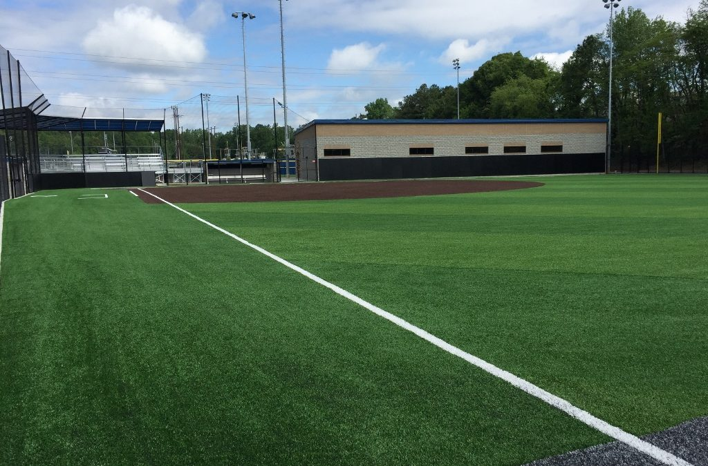 SG Contracting Built Pace Academy's Softball Facility